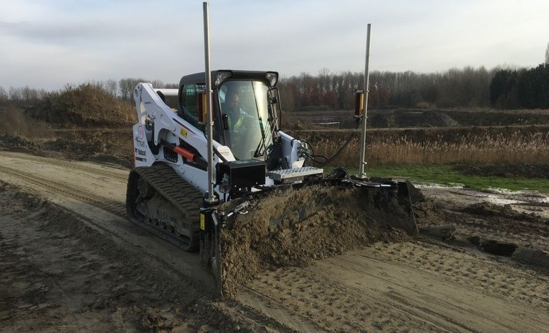 Bobcat's T770 voor Jan De Nul nv